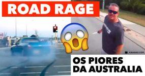 Compilação épica de ROAD RAGE na Austrália