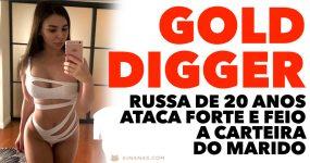 Produtor de Cannabis DEPENADO por uma Gold Digger Russa de 20 Anos