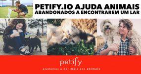 PETIFY.io ajuda animais abandonados a encontrarem um lar
