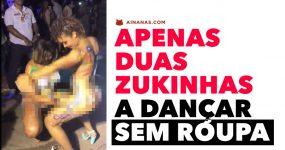 Apenas duas Zukinhas a Dançar sem Roupa