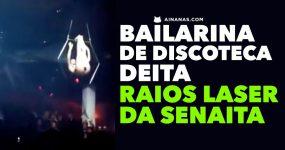 Bailarina DEITA RAIOS LASER da Senaita