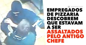 Empregados de Pizzaria descobrem que estavam a ser ASSALTADOS PELO ANTIGO CHEFE