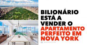 JAZUS!! Vê o apartamento que um bilionário está a vender em Nova York