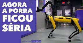 Robots da Boston Dynamics estão a ficar ASSUSTADORES