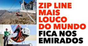 WOW maior zip line do mundo está nos Emiratos e é SURREAL