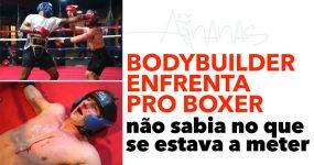 Bodybuilder Rambo Gunz enfrenta boxer Allan Green