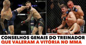 Conselhos GENAIS do Treinador que valeram a Vitória no MMA