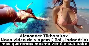 Alexander Tikhomirov e a Sua TESUDA em Bali, Indonésia