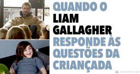 Quando o LIAM GALLAGHER responde às questões da criançada