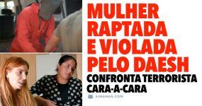 MULHER RAPTADA e violada pelo DAESH confronta terrorista cara-a-cara