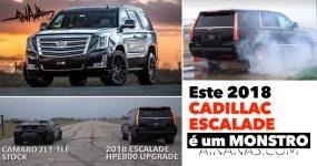 Este 2018 CADILLAC ESCALADE é um MONSTRO de 800HP