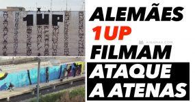 """Drone Filma Crew de Graffiti a """"atacar"""" 7 Locais ao Mesmo Tempo"""