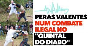 """PERAS VALENTES num combate ilegal no """"Quintal do Diabo"""""""