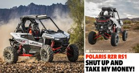 POLARIS RZR RS1: shut up and take my money!