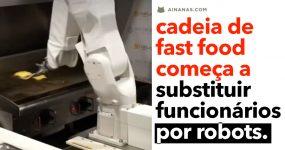 ROBOTS começam a substituir trabalhadores nos restaurantes