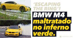 BMW M4 Maltratado em Nürburgring