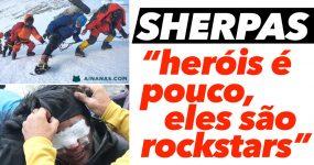 SHERPAS: Heróis que arriscam a vida diariamente no pico do mundo