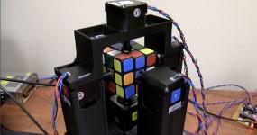 WOW: Robot Resolve Cubo Mágico em 1 Segundo