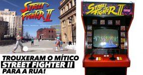 LINDO: Street Fighter II em realidade aumentada