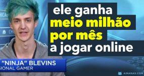 Ele ganha MEIO MILHÃO POR MÊS a Jogar Online