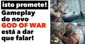 Gameplay do novo GOD OF WAR está a dar que falar!