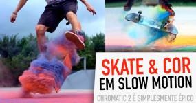 CHROMATIC 2: Explosões de Cor com Skate em Slow Motion