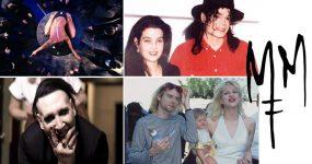 LISA MARIE PRESLEY e COURTNEY LOVE no novo video de Marilyn Manson
