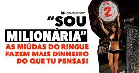 """""""SOU MILIONÁRIA"""": as miúdas do ringue fazem mais dinheiro do que pensas!"""