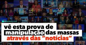 ASSUSTADOR: Quando um grande grupo controla as notícias