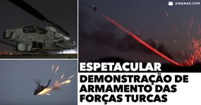 Espetacular demonstração de Armamento das Forças Turcas