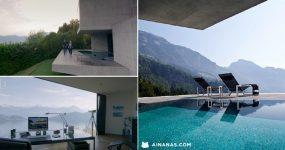 Mansão Épica na Suiça tem vistas de Cortar a Respiração!