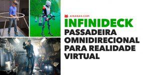 INFINIDECK: Passadeira omnidirecional para Realidade Virtual