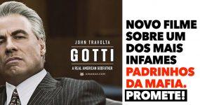 John Travolta é GOTTI em novo filme sobre a Mafia Americana