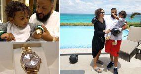 DJ Khaled compra Rolex de 34 mil dolares para o filho de 1 ano