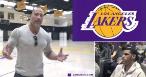 THE ROCK inspira os Lakers a Superarem-se!