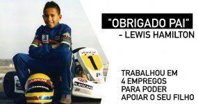 """""""OBRIGADO PAI"""" – Lewis Hamilton"""