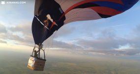 PANICO: Balão descontrolado cai a alta velocidade