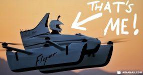 CASEY NEISTAT pilotou o primeiro Carro Voador Elétrico do Mundo