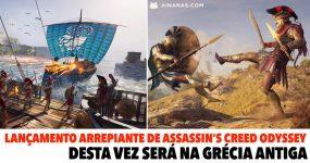 Lançamento Arrepiante de Assassin's Creed Odyssey