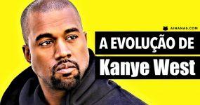 A evolução de KANYE WEST