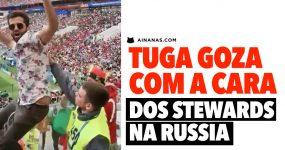 Tuga GOZA COM A CARA dos Stewards no Mundial