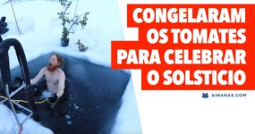 Australianos CONGELAM OS TOMATES para celebrar o Solstício