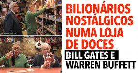 DOIS BILIONÁRIOS nostálgicos numa loja de doces