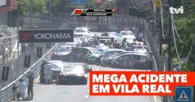 MEGA acidente hoje em Vila Real (WTCR )