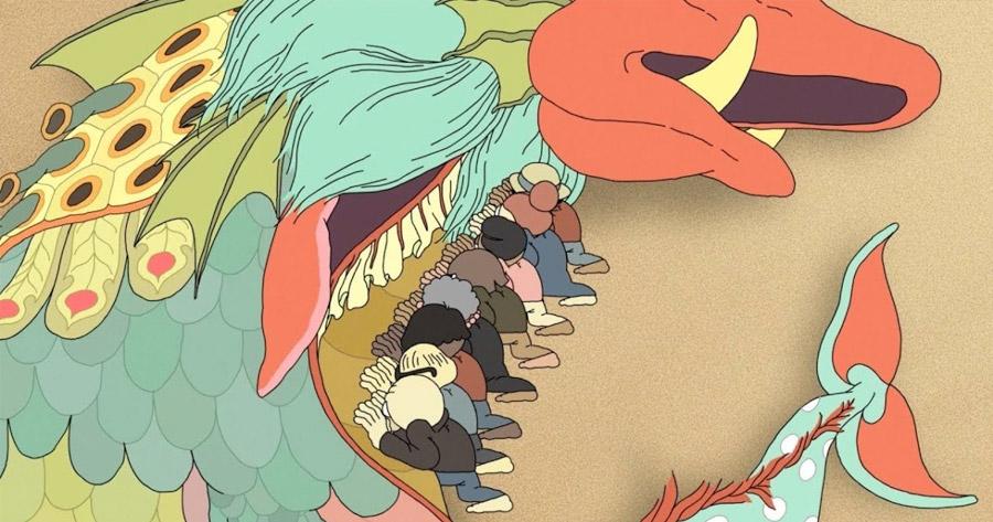DRY RUN: Curta psicadélica sobre Monstros Medievais