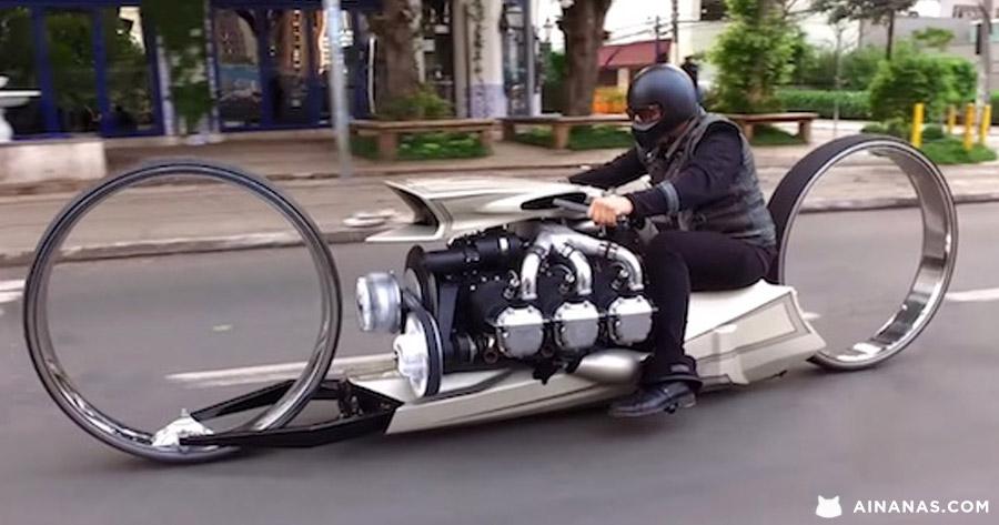WOW vê só esta incrível mota brasileira