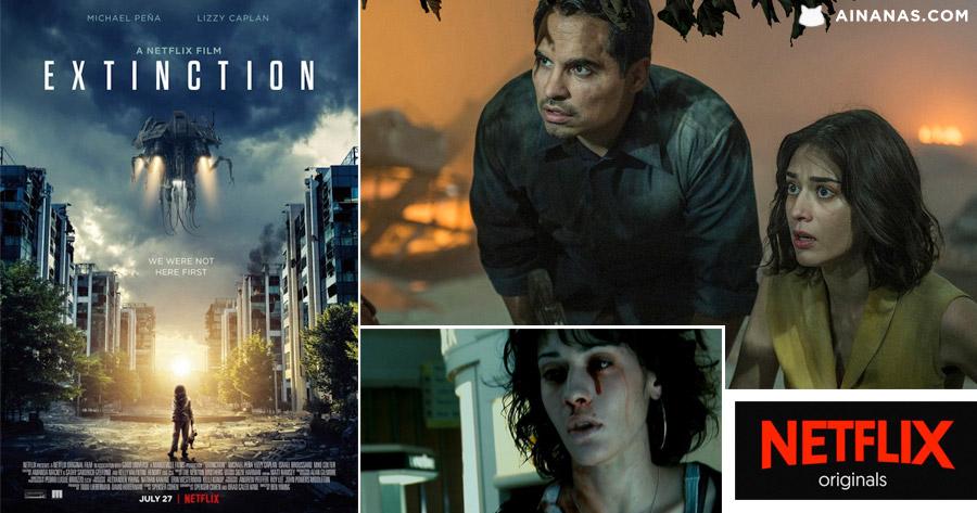 EXTINCTION: novo título de ficção científica vai chegar à Netflix