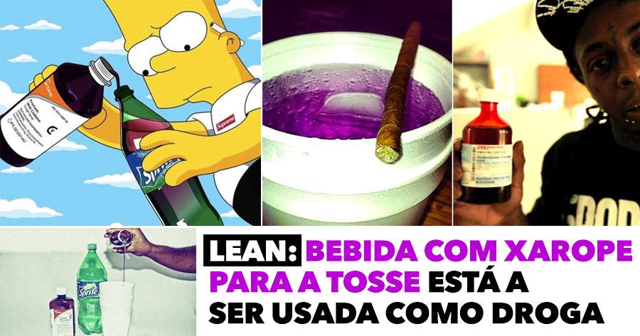 LEAN: bebida com xarope para a tosse está a ser usada como droga