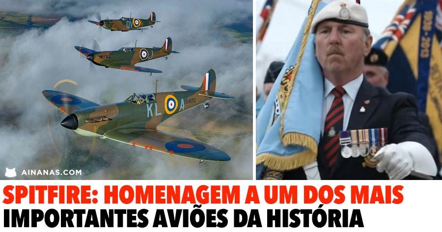 SPITFIRE: homenagem a um dos mais importantes aviões da história
