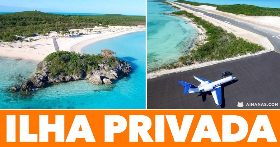A maior ILHA PRIVADA das Bahamas está à venda